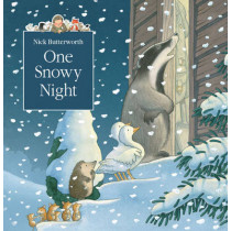 One Snowy Night (A Percy the Park Keeper Story) by Nick Butterworth, 9780007146932