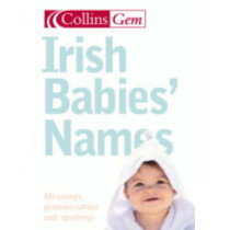 Irish Baby Names (Collins Gem), 9780007176175