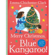 Merry Christmas, Blue Kangaroo! by Emma Chichester Clark, 9780007197149