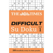 The Times Difficult Su Doku Book 1: 200 challenging puzzles from The Times by Wayne Gould, 9780007232529