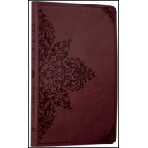 Holy Bible: English Standard Version (ESV) Anglicised Chestnut Ornamental Thinline edition by Collins Anglicised ESV Bibles, 9780007360659