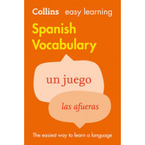 Easy Learning Spanish Vocabulary by Collins Dictionaries, 9780007483938