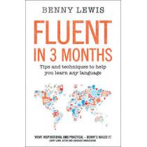 Fluent in 3 Months by Benny Lewis, 9780007543922