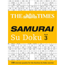 The Times Samurai Su Doku 3: 100 challenging puzzles from The Times by The Times, 9780007580774