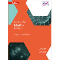 GCSE Maths AQA Higher Student Book (Collins GCSE Maths) by Kevin Evans, 9780007597345