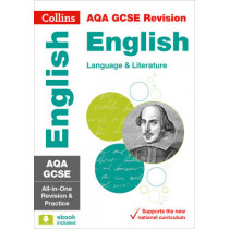 AQA GCSE 9-1 English Language and English Literature All-in-One Revision and Practice (Collins GCSE 9-1 Revision) by Collins GCSE, 9780008112561