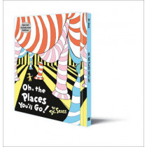 Oh, The Places You'll Go! Deluxe Gift Edition (Dr. Seuss) by Dr. Seuss, 9780008122119