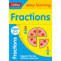 Fractions Ages 5-7 (Collins Easy Learning KS1) by Collins Easy Learning, 9780008134440