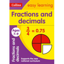 Fractions and Decimals Ages 7-9 (Collins Easy Learning KS2) by Collins Easy Learning, 9780008134457