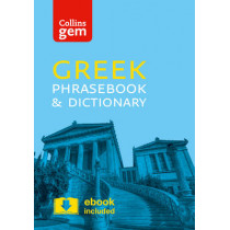 Collins Greek Phrasebook and Dictionary Gem Edition: Essential phrases and words in a mini, travel-sized format (Collins Gem) by Collins Dictionaries, 9780008135898