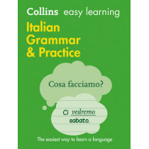 Easy Learning Italian Grammar and Practice by Collins Dictionaries, 9780008141660