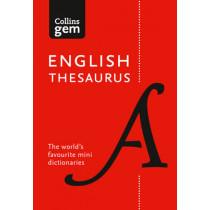 Collins English Gem Thesaurus: The world's favourite mini thesaurus (Collins Gem) by Collins Dictionaries, 9780008141691