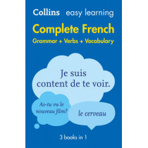 Easy Learning French Complete Grammar, Verbs and Vocabulary (3 books in 1) by Collins Dictionaries, 9780008141721