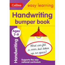 Handwriting Bumper Book Ages 7-9 (Collins Easy Learning KS2) by Collins Easy Learning, 9780008151447