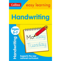 Handwriting Ages 5-7 (Collins Easy Learning KS1) by Collins Easy Learning, 9780008151454