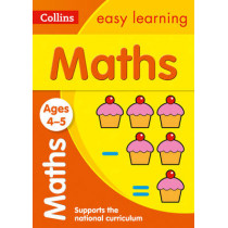 Maths Ages 3-5: New Edition (Collins Easy Learning Preschool) by Collins Easy Learning, 9780008151539