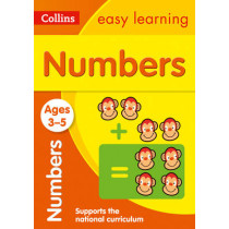 Numbers Ages 3-5: New Edition (Collins Easy Learning Preschool) by Collins Easy Learning, 9780008151546