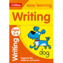 Writing Ages 3-5: New Edition (Collins Easy Learning Preschool) by Collins Easy Learning, 9780008151614