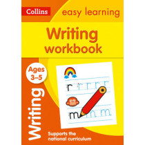 Writing Workbook Ages 3-5: New Edition (Collins Easy Learning Preschool) by Collins Easy Learning, 9780008151621