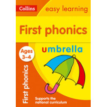 First Phonics Ages 3-4 (Collins Easy Learning Preschool) by Collins Easy Learning, 9780008151638
