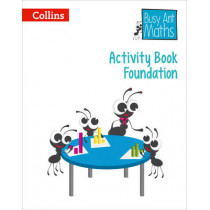 Busy Ant Maths European edition - Activity Book Foundation by Peter Clarke, 9780008173197
