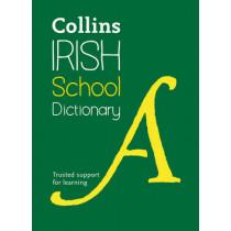 Collins Irish School Dictionary (Collins School) by Collins Dictionaries, 9780008190286