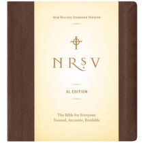 NRSV, XL Edition, Bonded Leather, Brown by Zondervan, 9780061244896