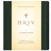 NRSV XL, Catholic Edition, Hardcover, Green, 9780061255779
