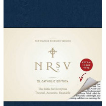 NRSV XL, Catholic Edition, Hardcover, Navy by Harper Bibles, 9780061946547