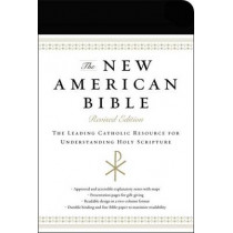 The New American Bible, Revised Edition, Imitation Leather, Black: The Leading Catholic Resource for Understanding Holy Scripture by Harper Bibles, 9780062084712