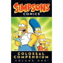 Simpsons Comics Colossal Compendium Volume 1 by Matt Groening, 9780062267757