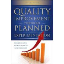 Quality Improvement Through Planned Experimentation 3/E by Ronald D. Moen, 9780071759663