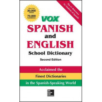 Vox Spanish and English School Dictionary, Paperback, 2nd Edition by Vox, 9780071816649