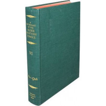 A Dictionary of the Older Scottish Tongue from the Twelfth Century to the End of the Seventeenth: Volume 6, Po-Quh: Parts 32-36 combined by Sir William A. Craigie, 9780080306742