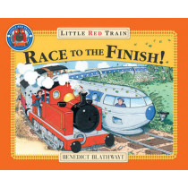 Little Red Train's Race to the Finish by Benedict Blathwayt, 9780099495178