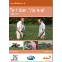 Fertiliser manual (RB209) by Great Britain: Department for Environment, Food and Rural Affairs, 9780112432869