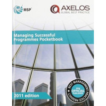 Managing successful programmes pocketbook [single copy] by Great Britain: Cabinet Office, 9780113313532