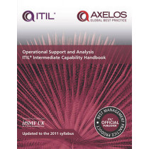 Operational support and analysis: ITIL intermediate capability handbook, [pack of 10 copies] by Stationery Office, 9780113314300