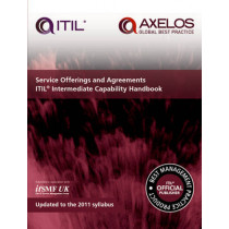 Service offerings and agreements ITIL 2011 intermediate capability handbook (single copy) by Axelos, 9780113314492