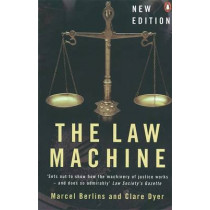 The Law Machine by Clare Dyer, 9780140287561