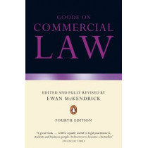Goode on Commercial Law: Fourth Edition by Professor Sir Roy Goode, 9780141030227