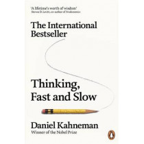 Thinking, Fast and Slow by Daniel Kahneman, 9780141033570
