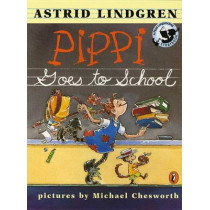 Pippi Goes to School by Astrid Lindgren, 9780141302362