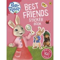 Peter Rabbit Animation: Best Friends Sticker Book by Beatrix Potter, 9780141353234