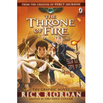 The Throne of Fire: The Graphic Novel (The Kane Chronicles Book 2) by Rick Riordan, 9780141366586