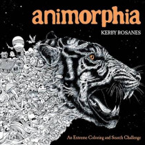 Animorphia: An Extreme Coloring and Search Challenge by Kerby Rosanes, 9780147518361