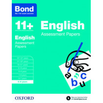 Bond 11+: English: Assessment Papers: 5-6 years by Sarah Lindsay, 9780192739995
