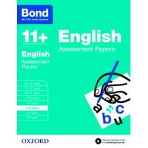 Bond 11+: English: Assessment Papers: 7-8 years by Sarah Lindsay, 9780192740014