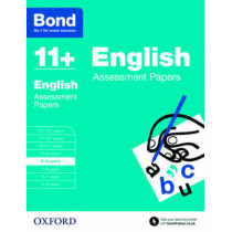 Bond 11+: English: Assessment Papers: 8-9 years by Sarah Lindsay, 9780192740021