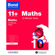 Bond 11+: Maths: 10 Minute Tests: 7-8 years by Sarah Lindsay, 9780192740564